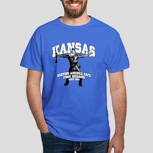 Kansas - Keeping America Safe... Dark T-Shirt