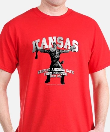 Kansas - Keeping America Safe... T-Shirt