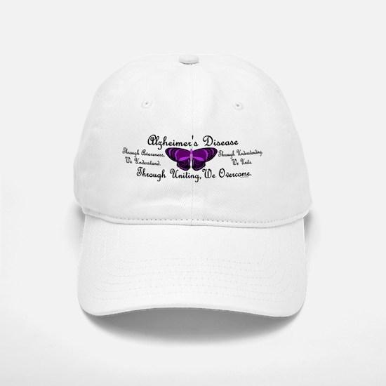 Butterfly Awareness 1 (Alzheimers) Baseball Baseball Cap