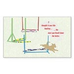 Agility Bowling Rectangle Sticker 50 pk)