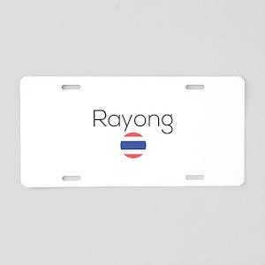 Rayong Aluminum License Plate