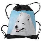 Samoyed Drawstring Bag