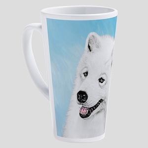Samoyed 17 oz Latte Mug