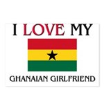 I Love My Ghanaian Girlfriend Postcards (Package o