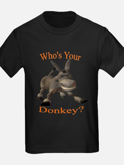 Donkey - black shirt T-Shirt