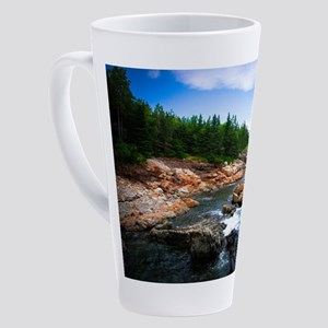 Acadia National Park 17 oz Latte Mug