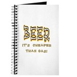 Beer, it's cheaper than gas! Journal