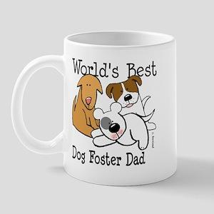 World's Best Dog Foster Dad Mug