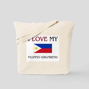 I Love My Filipino Girlfriend Tote Bag