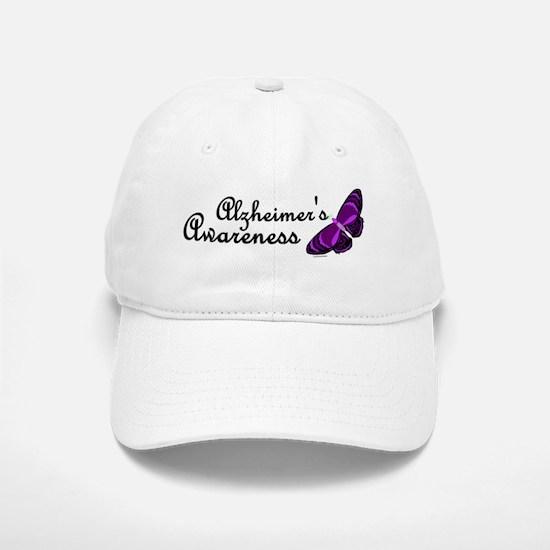 Butterfly Awareness 3 (Alzheimers) Baseball Baseball Cap