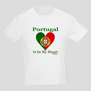Portugal - Heart Kids Light T-Shirt