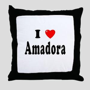 AMADORA Throw Pillow