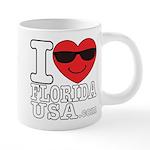 I Love Florida USA Mugs