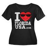 I Love Florida USA Plus Size T-Shirt