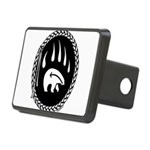 Tribal Bear Claw Rectangular Hitch Cover