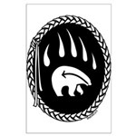 Native Art Gifts T-shirt Bear Claw Poster