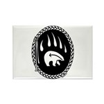 Tribal Bear Claw Rectangle Magnet (10 pack)