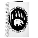 Native Art Gifts T-shirt Bear Claw Journal
