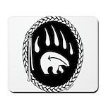 Native Art Gifts T-shirt Bear Claw Mousepad