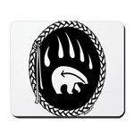 Tribal Bear Claw Mousepad