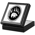 Native Art Gifts T-shirt Bear Claw Keepsake Box