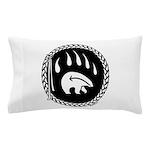 Native Art Gifts T-shirt Bear Claw Pillow Case