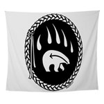 Tribal Bear Claw Wall Tapestry