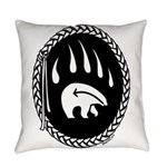 Tribal Bear Claw Everyday Pillow