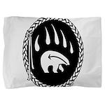 Native Art Gifts T-shirt Bear Claw Pillow Sham