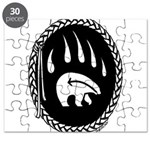Native Art Gifts T-shirt Bear Claw Puzzle