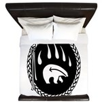 Tribal Bear Claw King Duvet