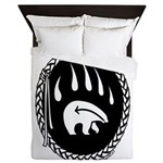 Tribal Bear Claw Queen Duvet