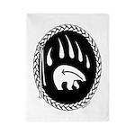 Native Art Gifts T-shirt Bear Claw Twin Duvet Cove