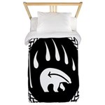 Tribal Bear Claw Twin Duvet Cover