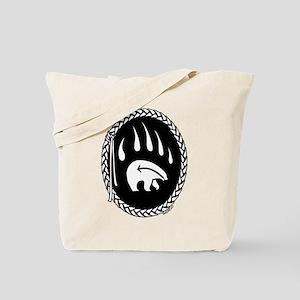 Native Art Gifts T-shirt Bear Claw Tote Bag