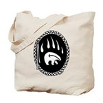 Tribal Bear Claw Tote Bag