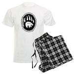 Tribal Bear Claw Men's Light Pajamas