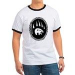 Tribal Bear Claw Ringer T