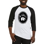 Tribal Bear Claw Baseball Tee