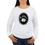 Tribal Bear Claw Women's Long Sleeve T-Shirt