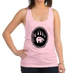 Tribal Bear Claw Racerback Tank Top