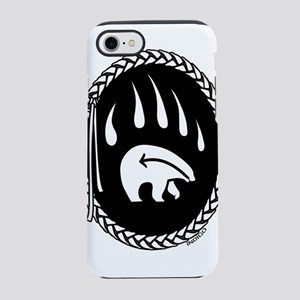 Native Art Gifts T-shirt Bear Claw iPhone 8/7 Toug