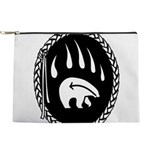 Native Art Gifts T-shirt Bear Claw Makeup Bag