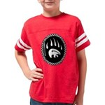 Tribal Bear Claw Youth Football Shirt