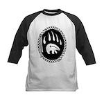 Native Art Gifts T-shirt Bear Claw Baseball Jersey
