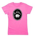 Tribal Bear Claw Girl's Tee
