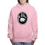Tribal Bear Claw Women's Hooded Sweatshirt