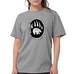 Tribal Bear Claw Women's Comfort Colors T-Shir