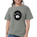 Tribal Bear Claw Women's Comfort Colors T-Shir