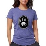 Tribal Bear Claw Womens Tri-blend T-Shirt